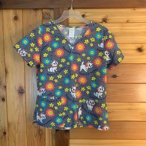 👩⚕️ Disney 💯% Cotton scrub top